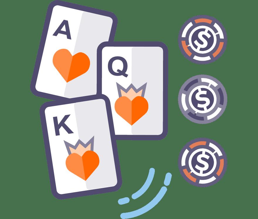 Los 60 mejores sitios de Casino de Póker de tres cartas en línea en Chile